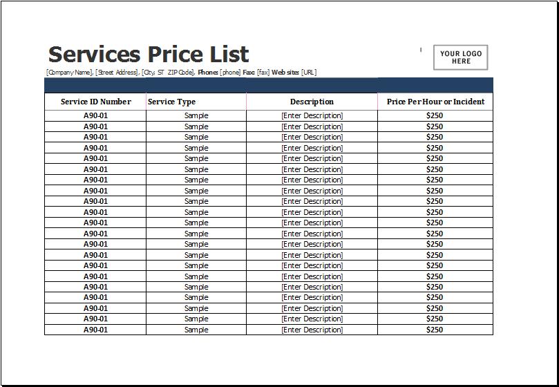 Vendor Information Pages
